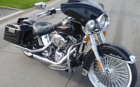 Softail Bagger Style
