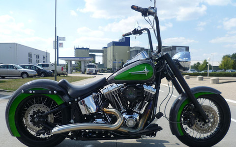 SOFTAIL GROUND POUNDER